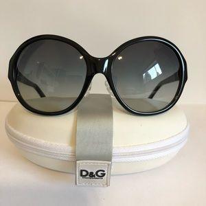 D&G Sunglass Black Authentic